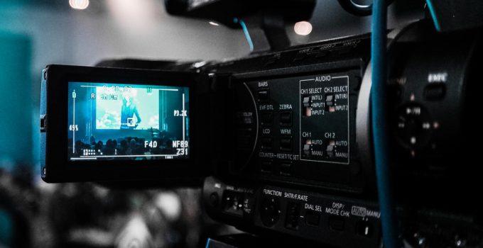 empresa produzindo um vídeo