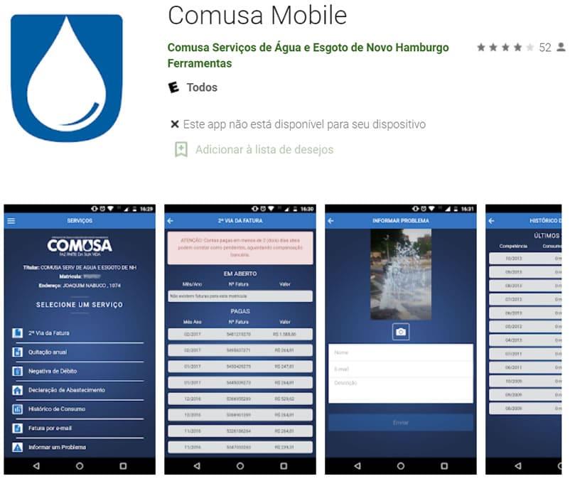 comusa app